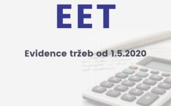 EET (elektronická evidence tržeb) od 1. května 2020